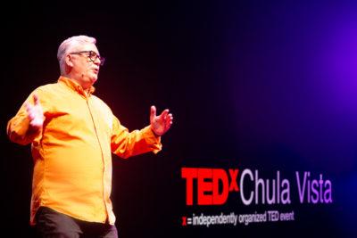 Dave presenting at TEDx Chula Vista